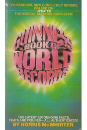 Guinnes Book of World Records 1984 - Norris McWhirter (szerk.) - Régikönyvek