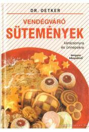 Vendégváró sütemények - Oetker dr. - Régikönyvek