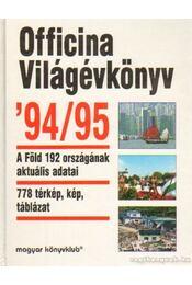 Officina Világévkönyv '94-95 - Régikönyvek