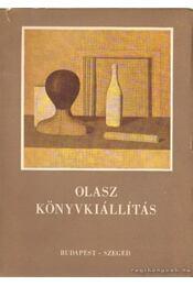 Olasz könyvkiállítás - Régikönyvek