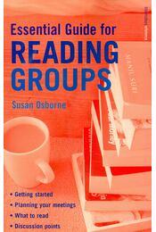 Essential Guide for Reading Groups - OSBORNE, SUSAN - Régikönyvek