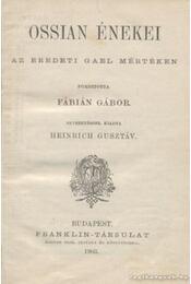 Ossian énekei - Régikönyvek