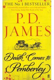 Death Comes to Pemberley - P. D. James - Régikönyvek