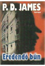 Eredendő bűn - P. D. JAMES - Régikönyvek