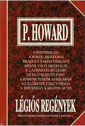 Légiós regények - P. Howard, Rejtő Jenő - Régikönyvek