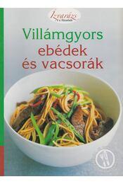 Villámgyors ebédek és vacsorák - Pamela Clark - Régikönyvek