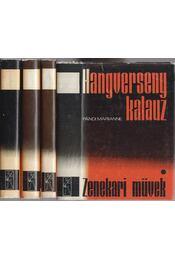 Hangversenykalauz I-IV. - Pándi Marianne - Régikönyvek