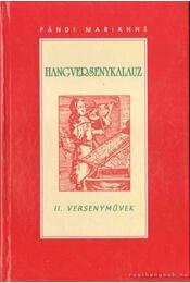 Hangversenykalauz II. - Pándi Marianne - Régikönyvek