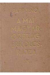 A mai Magyarország erkölcsrajza - Papp Jenő - Régikönyvek