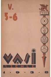 Vasi szemle 1938. V. évf. 5-6. szám - Pável Ágoston - Régikönyvek