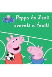 Peppa malac - Peppaés Zsoli szereti a focit! - Régikönyvek