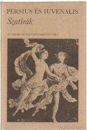 Szatírák - Persius és Iuvenalis - Régikönyvek