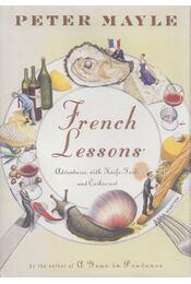 French Lessons - Peter Mayle - Régikönyvek