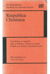 Respublica Christiana - Peter von Silvers - Régikönyvek