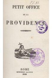 Petit office de la Providence - Régikönyvek