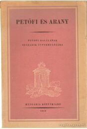 Petőfi és Arany - Régikönyvek