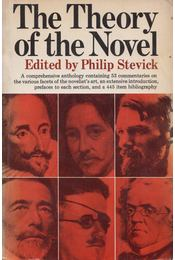 The Theory of the Novel - Philip Stevick - Régikönyvek