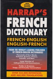 Harrap's Shorter Dictionary (French-English, English-French) - PILARD, GEORGES – STEVENSON, ANNA (editors) - Régikönyvek