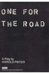 One for the Road - Pinter, Harold - Régikönyvek