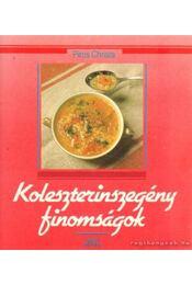 Koleszterinszegény finomságok - Piros Christa - Régikönyvek