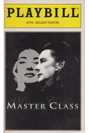 Playbill - John Golden Theatre November 1995 - Régikönyvek