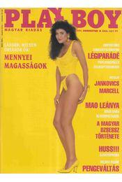 Playboy 1991. augusztus - Futász Dezső - Régikönyvek