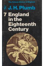 England in the Eighteenth Century - PLUMB, J.H. - Régikönyvek