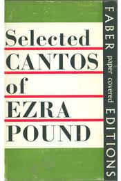 Selected Cantos of Ezra Pound - Pound, Ezra - Régikönyvek