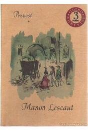 Manon Lescaut - Prévost, Antoine-Francois - Régikönyvek