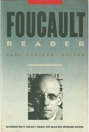 The Foucault Reader - RABINOW, PAUL - Régikönyvek