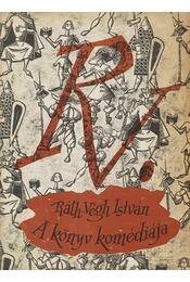 A könyv komédiája - Ráth-Végh István - Régikönyvek
