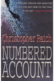 Numbered Account - Reich, Christopher - Régikönyvek
