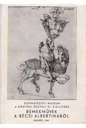 Remekművek a Bécsi Albertinából - Régikönyvek