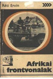 Afrikai forntvonalak - Réti Ervin - Régikönyvek