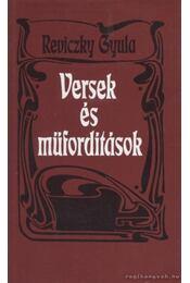 Versek és műfordítások - Reviczky Gyula - Régikönyvek