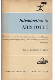 Introduction to Aristotle - Richard McKeon - Régikönyvek