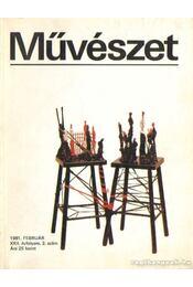 Művészet 1981. február - Rideg Gábor - Régikönyvek