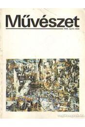 Művészet XXV. évf. 1984/4. szám - Rideg Gábor - Régikönyvek