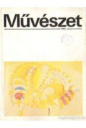 Művészet XXVI. évf. 1985/7. szám - Rideg Gábor - Régikönyvek