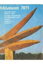 Művészet 78/11 - Rideg Gábor - Régikönyvek
