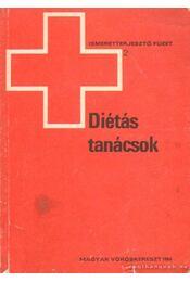 Diétás tanácsok - Rigó János dr. - Régikönyvek