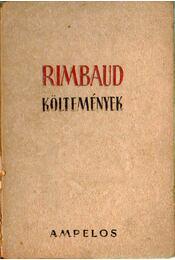 Költemények (dedikált) - Rimbaud, Arthur - Régikönyvek