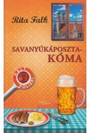Savanyúkáposzta-kóma - Rita Falk - Régikönyvek
