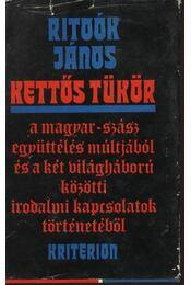 Kettős tükör - Ritoók János - Régikönyvek