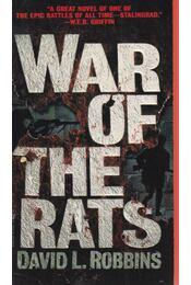 War of the Rats - Robbins, David - Régikönyvek