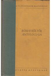 Római költők antológiája - Régikönyvek