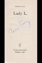 Lady L. (Aláírt példány.) - Romain Gary - Régikönyvek