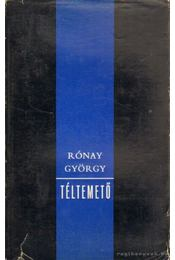 Téltemető - Rónay György - Régikönyvek