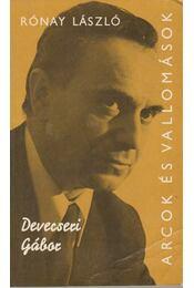 Devecseri Gábor - Rónay László - Régikönyvek