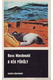 A kék pöröly - Ross MacDONALD - Régikönyvek